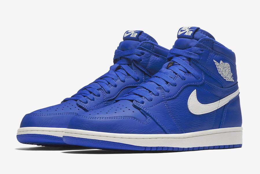 Nike Air Jordan Retro 1 Hyper Royal Hi 555088-401 Basketball Shoes Men Great discount