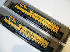 KATO 2 LOCO SET 176-7035 + 176-7036  N AC4400CW Chicago & North Western C&NW