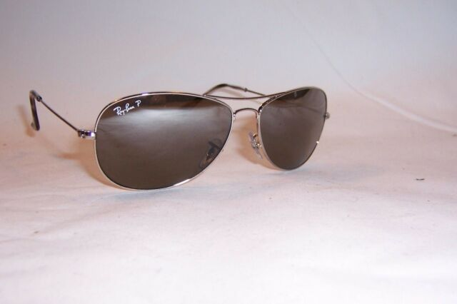 7a55d9039b New RAY BAN Sunglasses 3562 003 5J SILVER SILVER MIRROR POLARIZED 59mm  AUTHENTIC