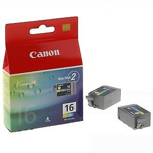 Original Canon  Colour Ink Cartridge Twin Pack for Pixma iP90v