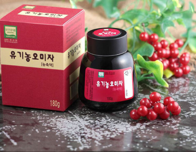 Natural Five Taste Organic Schizandra Berry Extract Schisandra Chinensis  180g