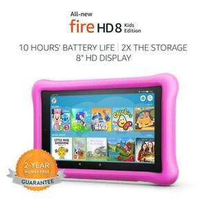 """'todos los nuevos Fire HD 8 Niños Edición Tablet, Pantalla De 8"""", 32 GB de memoria 32GB, Rosa +"""