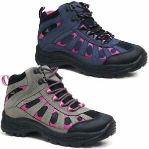 Ladies-Hiking-Boots-Womens-Girls-Trail-Trekking-Walking-Trainers-Shoes-Size-4-8