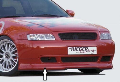bis Modell 1999 8L Rieger Frontspoilerlippe schwarz matt für Audi A3