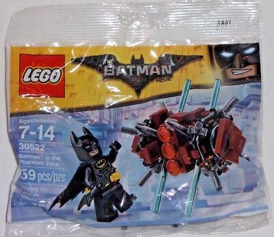 Lego Super Heroes Batman in the Phantom Zone Polybag 30522 Movie Figurine New