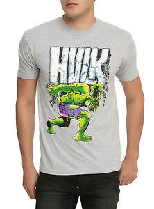Marvel The Incredible Hulk T Shirt for Men Gray