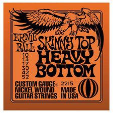 Ernie Ball Cuerdas Conjunto. Skinny Top Heavy inferior 10-52. 2215.