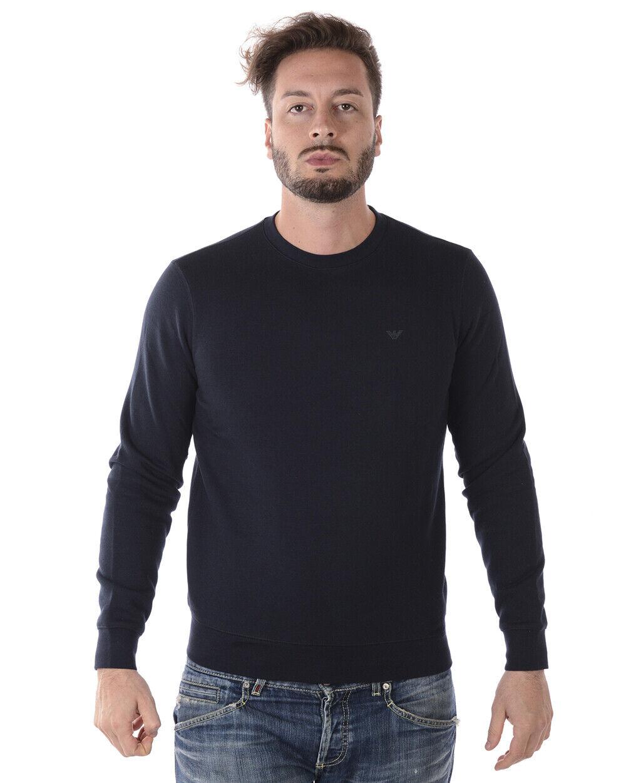 Emporio Armani Sweatshirt Hoodie Man Blau 8N1M191JQPZ 939 Sz.XXL MAKE OFFER