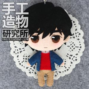 Japanese Anime BANANA FISH cosplay Handmade Hanging Doll Toy Bag Gift