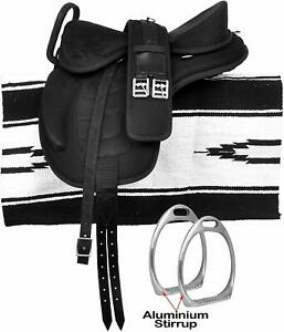 Freemax Synthetic All Purpose  English Horse Tack Saddle With Handle