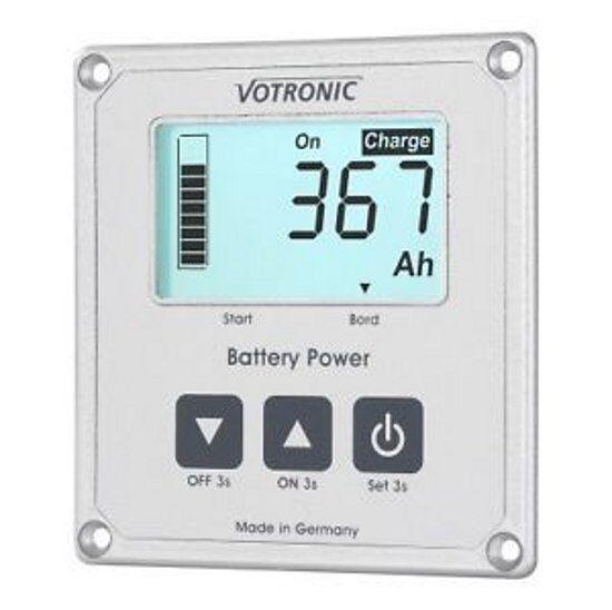 Votronic Batteriecomputer 400 mit S, Volt, Amp, Ah, Batterie(tankuhr) mit 400 Smartshunt b2a2e9