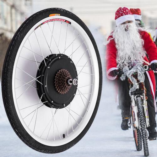 500W 800W HINTERRADElektro Fahrrad Ebike Conversion Kit Elektrofahrrad Umbausatz Elektrofahrräder