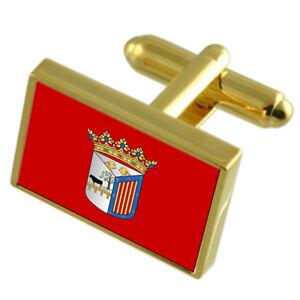 Jerez City Spain Flag Tie Clip