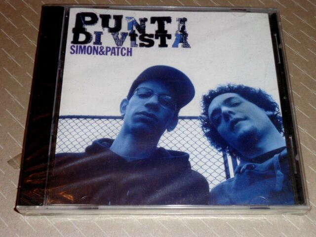 SIMON & PATCH  -  PUNTI DI VISTA  -  CD 2009 SINGOLO NUOVO