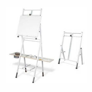 Bob Ross 2 In 1 Floor Table Artists Painting Easel Ebay