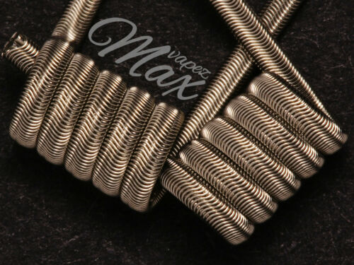 36g ni80 4//5 wraps 3mm 0,28 single 0,14 dual Alien coil 3//28g