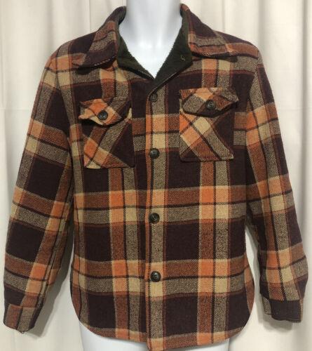 Quality Sportswear Vtg 60s Jacket Size LG