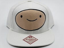 Adventure Time Finn White Trucker Snapback Hat Baseball Cap CLEARANCE SALE