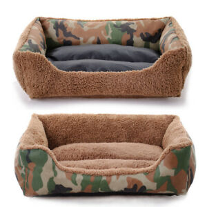 Pet-Dog-Cat-Bed-Puppy-Cushion-Washable-Camouflage-Mat-Kennel-Warm-Soft-House-Bed