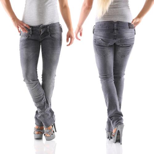 Db666 Pour Femmes Jeans Herrlicher Pitch Denim Noir 718 Droit Neuf qwCPt7px