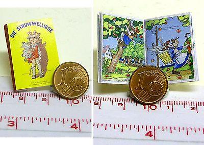 Puppenstube 1032# Miniatur Kinderbuch Struwwelliese M1zu12 Puppenhaus