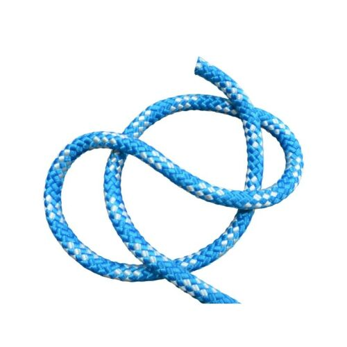 Marine Rope Polyester Braided Blue /& White Freepost Halyards Sailing Sheets