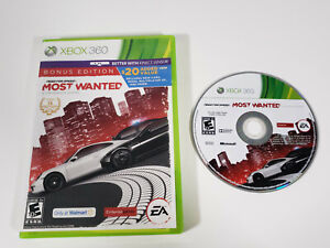 Need for Speed Most Wanted Bonus Edition (Microsoft Xbox 360, 2012) - Tested