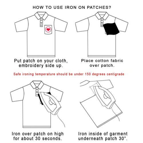 Assortito Design Termoadesivo Strass Patch Adesivi per Fai da Te Vestiti Borse