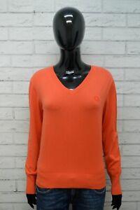 Maglione-DIESEL-Donna-Taglia-M-Pullover-Cardigan-Sweater-Woman-Cotone-Pesca