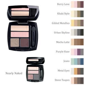 how to apply avon true color eyeshadow quad