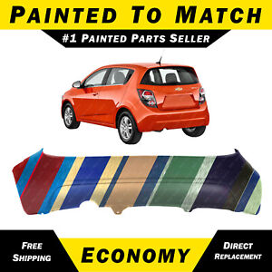 NEW Painted To Match Rear Bumper Replacement for 2012-2016 Chevy Sonic Hatch