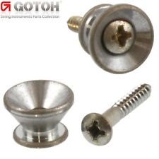 Gotoh Nickel Strap Buttons for Fender® Guitar//Bass EP-B2NS
