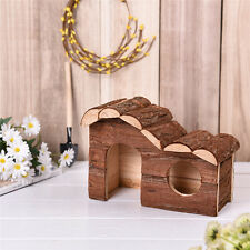 Hamster House Exceicise Toy Wooden Nest Guinea Pig Mouse Rat Cage Pet Supplies