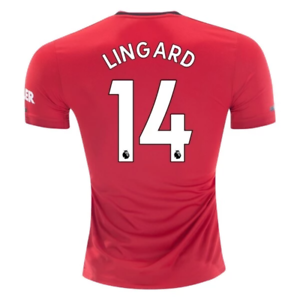 ED7387 adidas 2019-20 manchester United mannen's Home Authentic Jersey Lingard 14