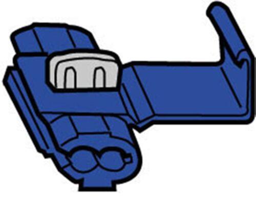 5x Abzweigverbinder Schnellverbinder Stromdieb Quetschverbinder 5 Stück Blau