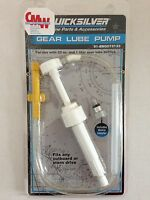 Getriebeöl Pumpe Quicksilver, Inkl. Adapter