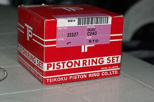 4PCS STD Piston Ring for Isuzu ELF C190 C240 4 Grooves
