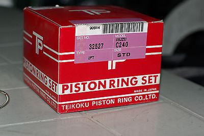 Piston Ring Set  Isuzu C240  Trucks  Forklifts 3 Grooves 8-94104949-0