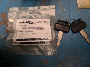 Case New Holland Kobelco Pelleteuse 2 X ClÉ De Contact P/n Pm50s01001p1 éConomisez 50-70%