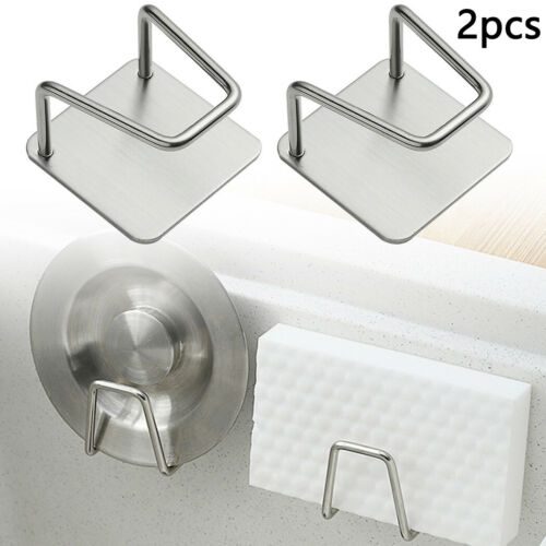 Kitchen Organizer Soap Storage Rack Sponge Sink Holder Cloth Drain Suction Cup