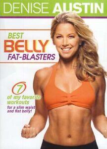 Denise-Austin-Migliore-Ventre-Fat-Blasters-Nuovo-DVD