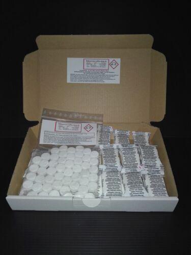 20 cleaning 20 descaling tablets for Saeco AEG Jura Krups WMF Bosch Delonghi