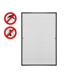 Fliegengitter Fenster Tür Weiß Insektenschutz Bausatz UV-Schutz Alurahmen