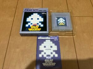 GameBoy SPACE INVADERS TAITO with BOX and Manual