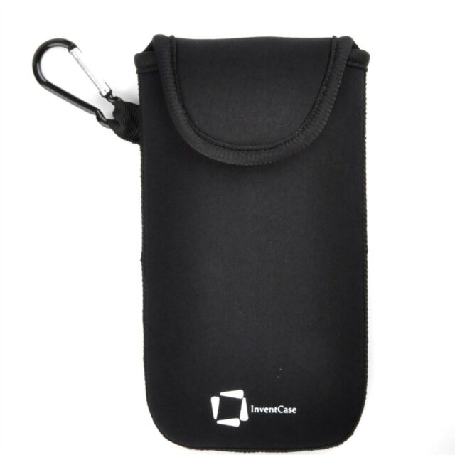 watch 03a37 58b5a Genuine InventCase Black Neoprene Pouch Case Cover Bag for Gionee F103 Pro