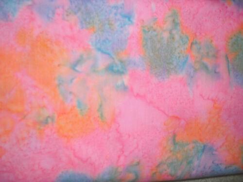 Paradise Batiks Polo Pink Multi #2629 QUILT FABRIC