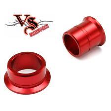 Zeta FRONT Wheel Spacer RED Kawasaki KX KXF KX125 KX250 KX250F KX450F