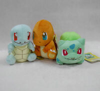 Set Of 3 Dolls Pokemon Cavans Series Dolls Bulbasaur Squirtle Charmander4