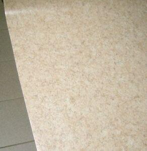 Sehr PVC Bodenbelag Rest 100x465 Hell Beige marmoriert NEU, weitere RC84