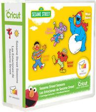 Cricut Sesame Street Seasons Cartridge is brand-new, in its original packaging